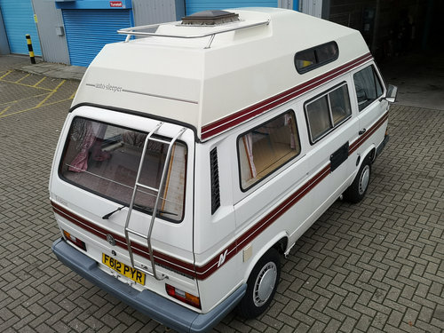 1989 VW T25 Campervan Autosleeper - 56000 miles - on The Market SOLD (picture 2 of 6)
