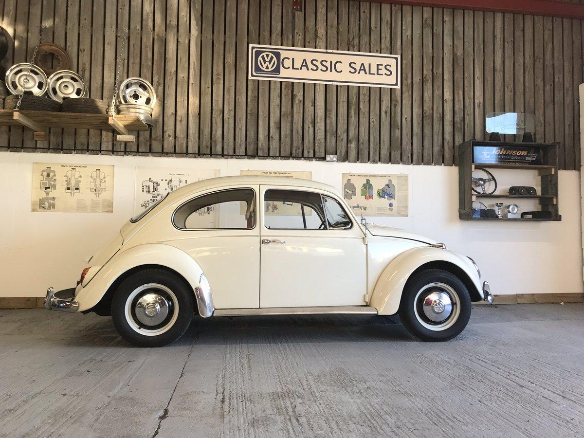 VW beetle 1967 1500 cc European spec LHD  For Sale (picture 1 of 6)