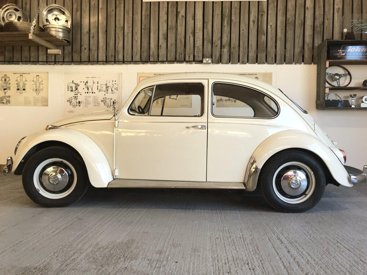 VW beetle 1967 1500 cc European spec LHD  For Sale (picture 2 of 6)