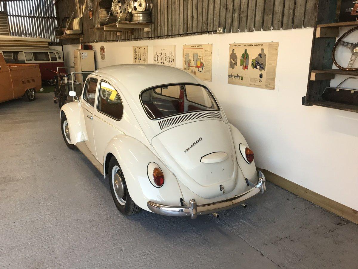 VW beetle 1967 1500 cc European spec LHD  For Sale (picture 4 of 6)