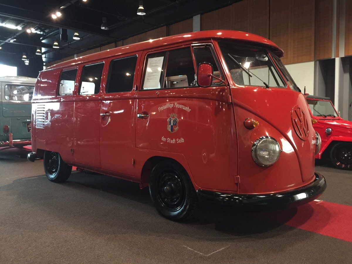 1961 Fire personnel 11 window kombi For Sale (picture 1 of 6)