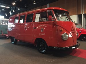 1961  Fire personnel 11 window kombi