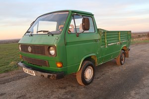 1986 Volkswagen Type 2 T3 Syncro Single Cab Pick Up LHD SOLD