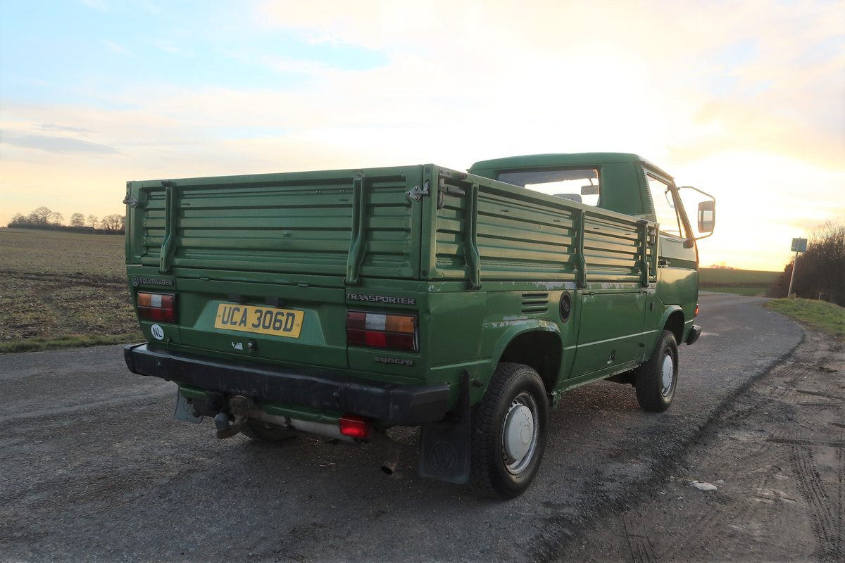1986 Volkswagen Type 2 T3 Syncro Single Cab Pick Up LHD SOLD (picture 2 of 6)