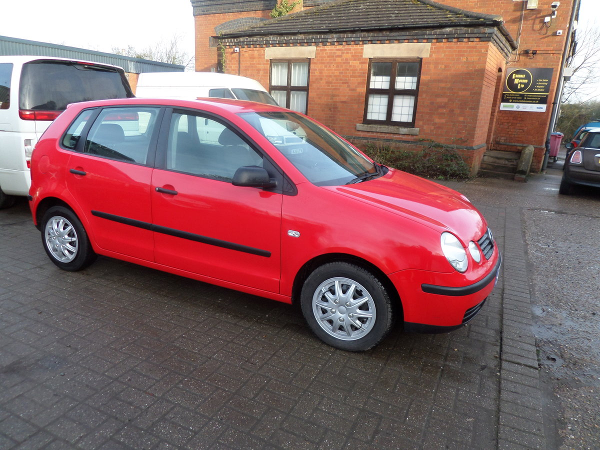 2002 POLO DIESEL 5 SPEED 5 DOOR 2021 MOT GOS GREAT F.S.H  132,000 For Sale (picture 1 of 6)