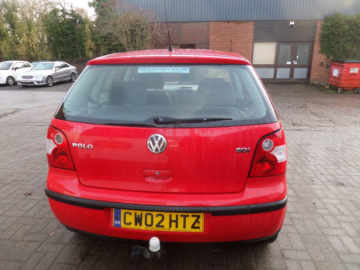 2002 POLO DIESEL 5 SPEED 5 DOOR 2021 MOT GOS GREAT F.S.H  132,000 For Sale (picture 2 of 6)
