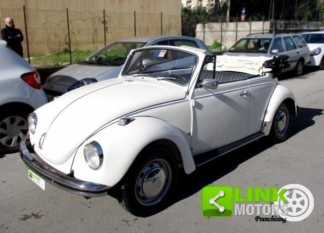 Volkswagen Maggiolino '15 AB1' Cabrio (1972) FIAS For Sale (picture 1 of 6)