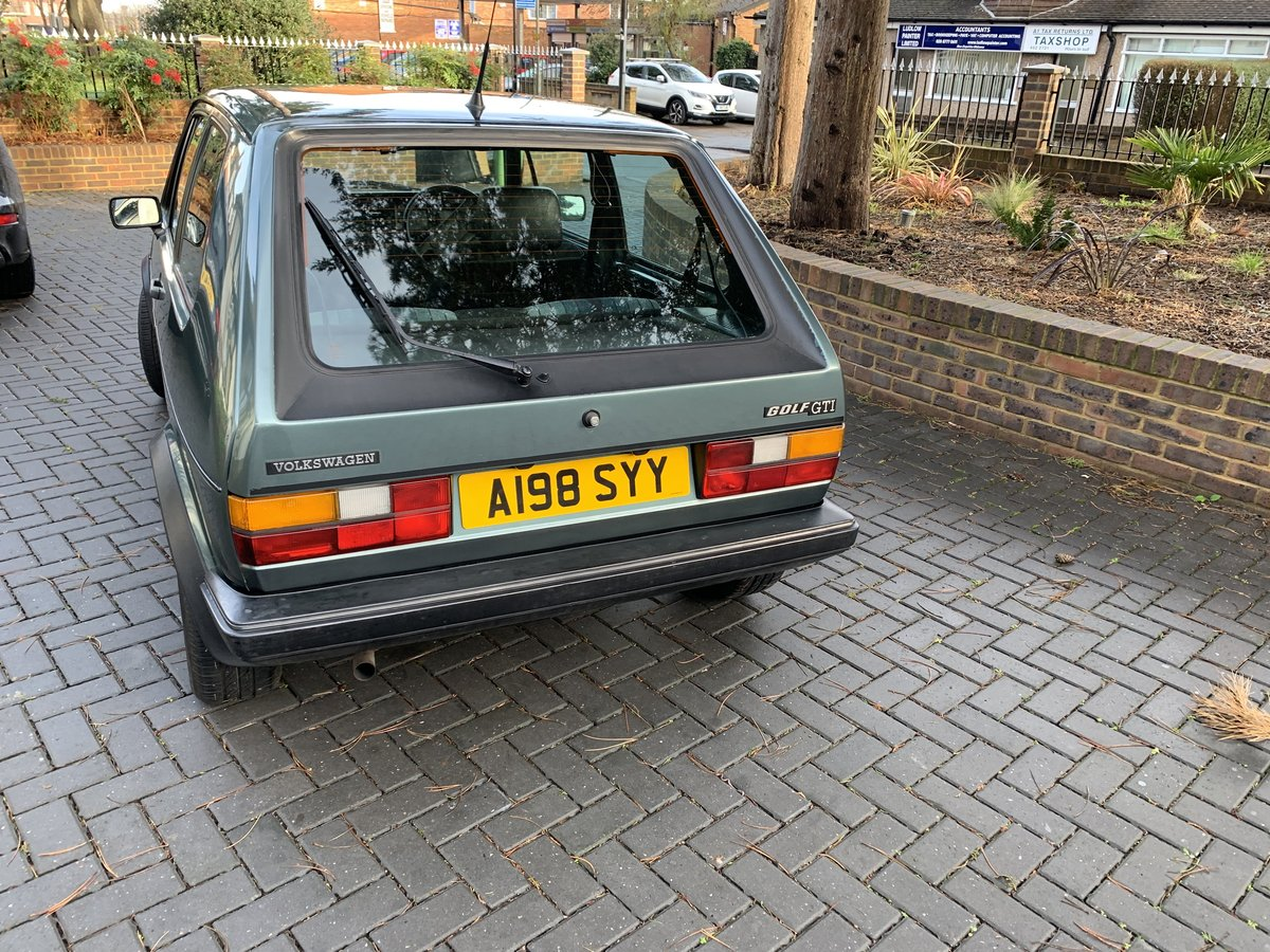 1983 VW Golf GTI Mk1 1.8 (Campaign) | Lhasa Green SOLD (picture 4 of 6)