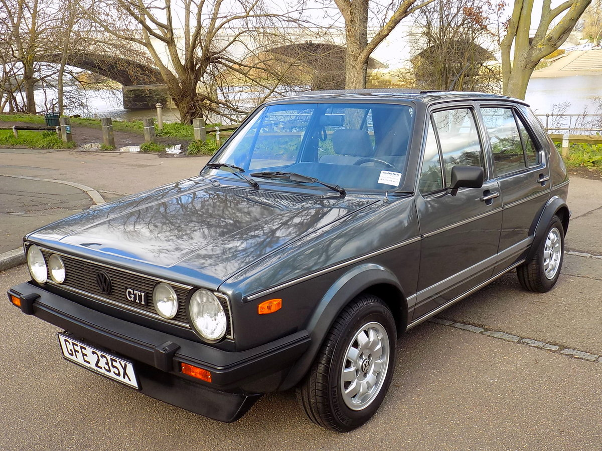 1982 VW Golf MK1 GTi 1.6 5 Door - LHD For Sale (picture 1 of 6)
