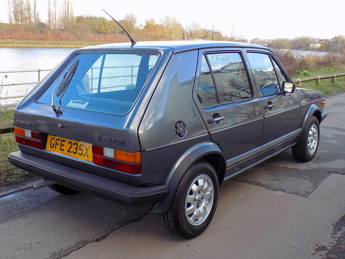 1982 VW Golf MK1 GTi 1.6 5 Door - LHD For Sale (picture 5 of 6)
