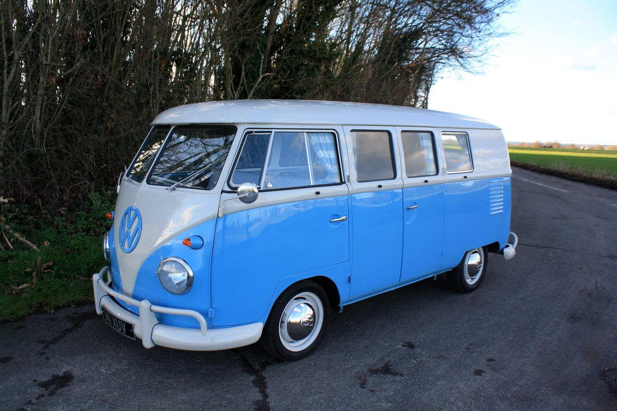 1962 VW Split Screen Camper Van – Right Hand Drive. Restored For Sale (picture 1 of 6)