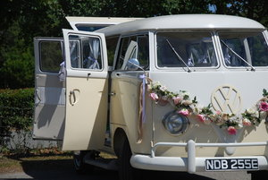1966 Deluxe VW Wedding and beetle  Hire