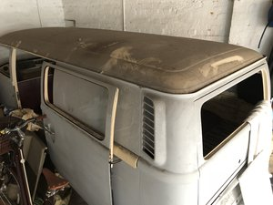 1976 Bay Window Campervan, part restoration, U.K. reg For Sale