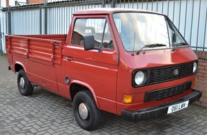 1986 VW T25 1.6 DIESEL PICK UP / SINGLE CAB MOT 08/19 For Sale