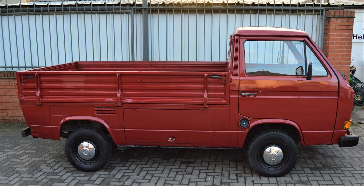 1986 VW T25 1.6 DIESEL PICK UP / SINGLE CAB MOT 08/19 For Sale (picture 2 of 6)