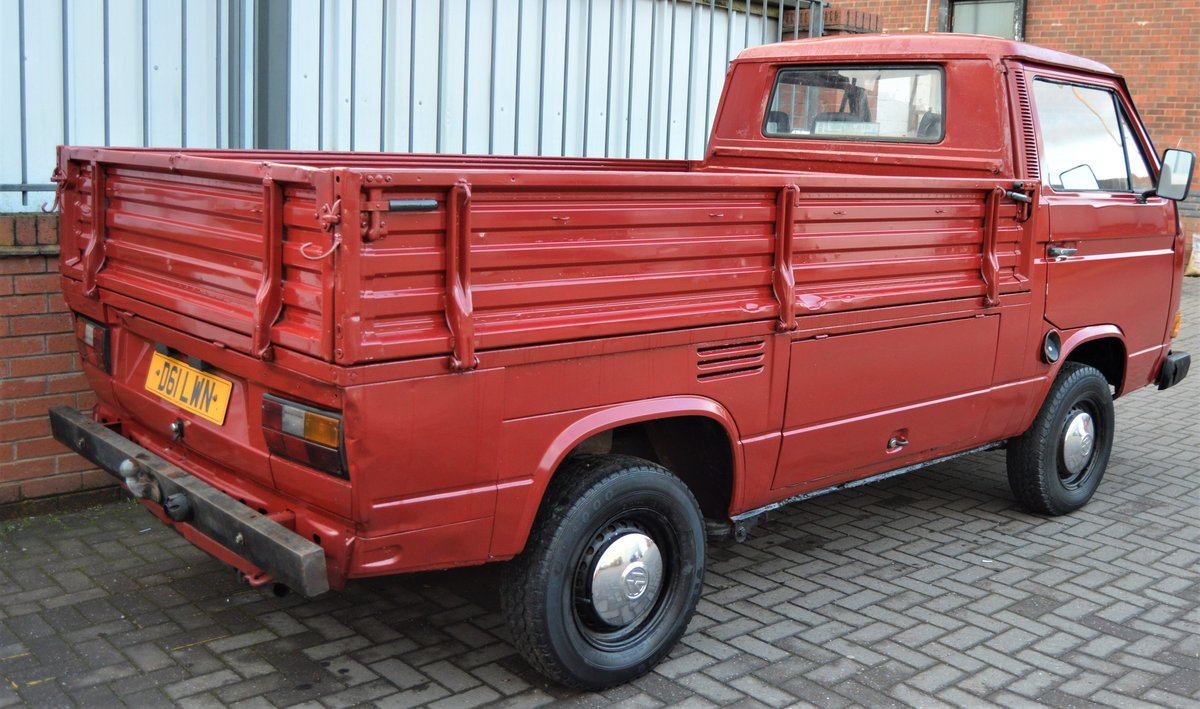1986 VW T25 1.6 DIESEL PICK UP / SINGLE CAB MOT 08/19 For Sale (picture 3 of 6)