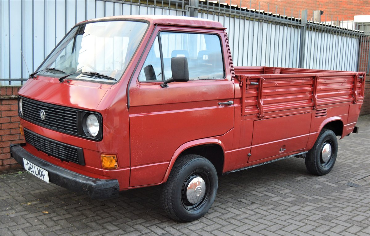 1986 VW T25 1.6 DIESEL PICK UP / SINGLE CAB MOT 08/19 For Sale (picture 4 of 6)