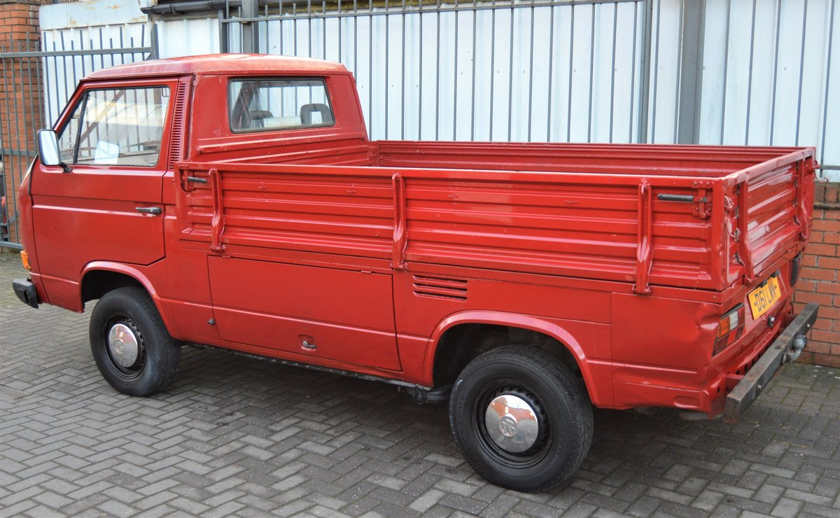 1986 VW T25 1.6 DIESEL PICK UP / SINGLE CAB MOT 08/19 For Sale (picture 5 of 6)