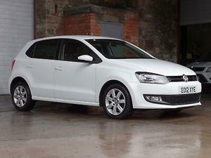 2012 Volkswagen Polo 1.4 Match 5DR SOLD