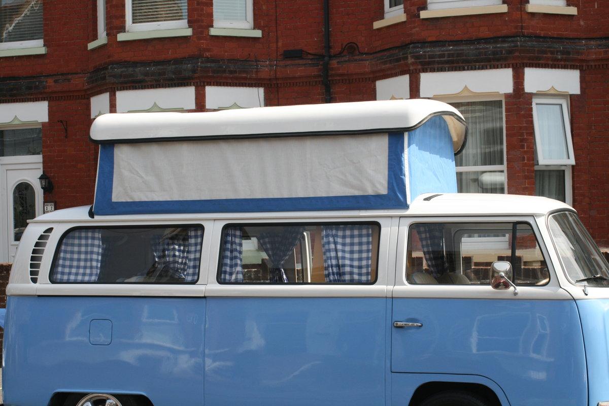 1969 VW  type 2 Bay window  camper van R.H.D. SOLD (picture 6 of 6)
