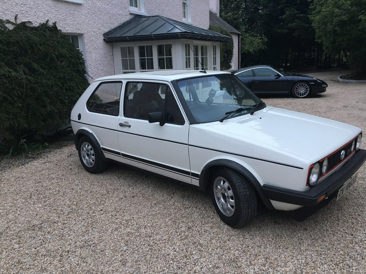 1981 Golf Gti Mk1 Expertly Restored For Sale (picture 1 of 6)