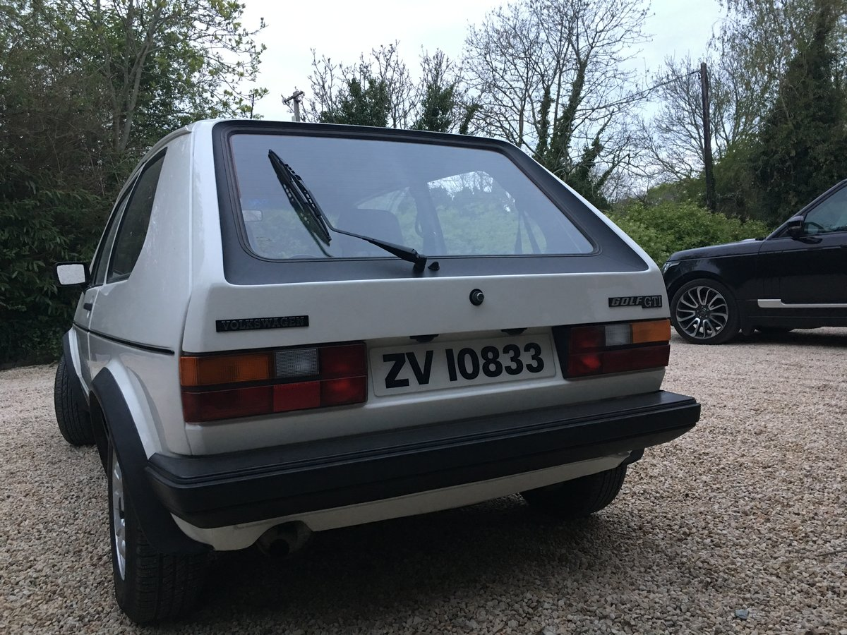 1981 Golf Gti Mk1 Expertly Restored For Sale (picture 4 of 6)