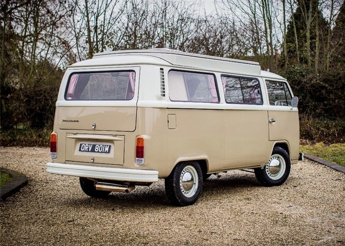 1974 Volkswagen T2 Camper SOLD by Auction (picture 3 of 6)