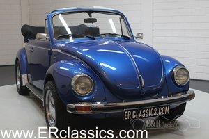 Volkswagen Beetle 1303 Cabriolet 1975 Blue metallic For Sale