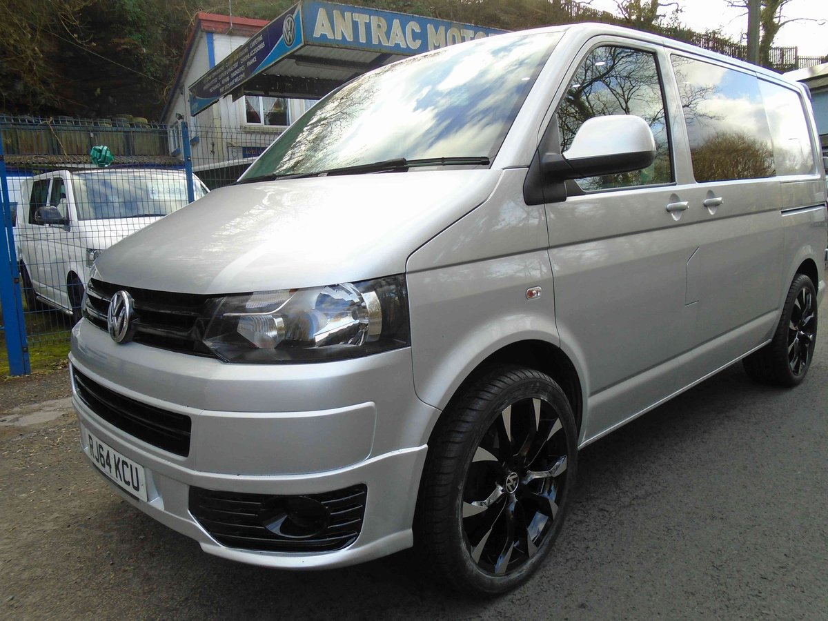 2014/64 VW TRANSPORTER KOMBI  CONVERSION 2.0 TDI 102 For Sale (picture 1 of 6)