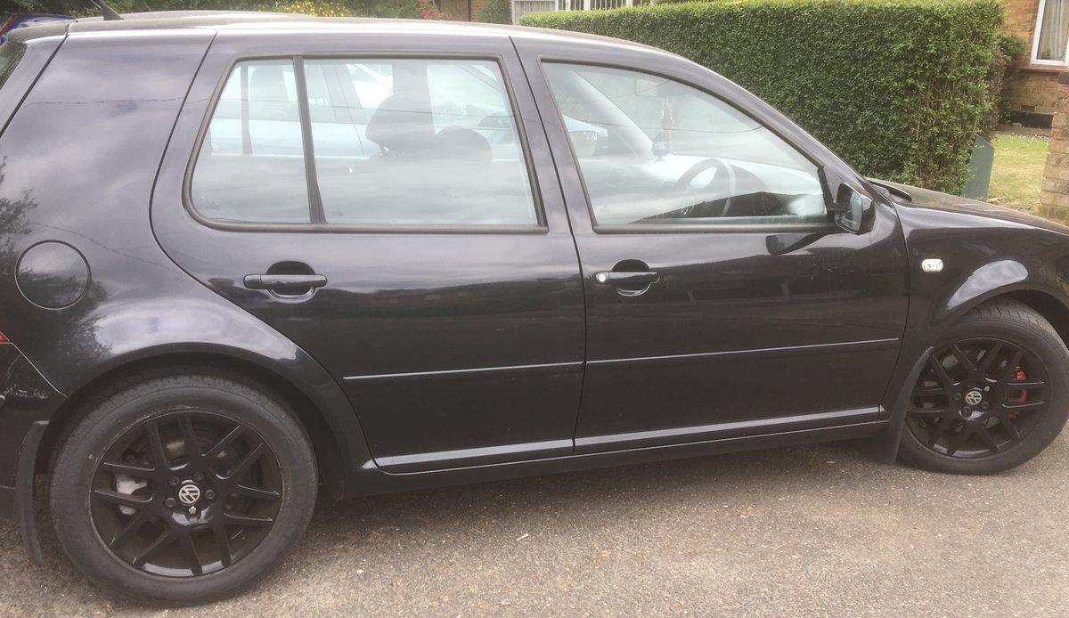 2003 Black 03 Golf Gti Turbo 5 door For Sale (picture 3 of 4)