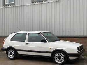 1989 [G] VOLKSWAGEN GOLF 1.8 16V GTi 3DR ALPINE For Sale