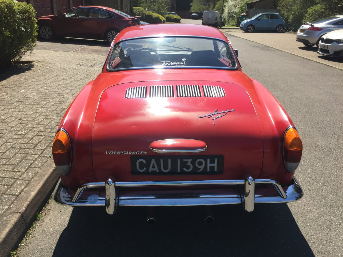 Karmann Ghia 1970 manual LHD SOLD (picture 3 of 6)
