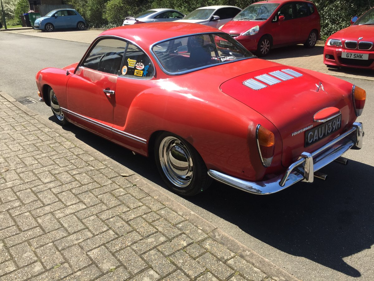 Karmann Ghia 1970 manual LHD SOLD (picture 6 of 6)