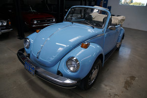 Orig CA owner 1979 Volkswagen Beetle Conv with 23K orig mile SOLD