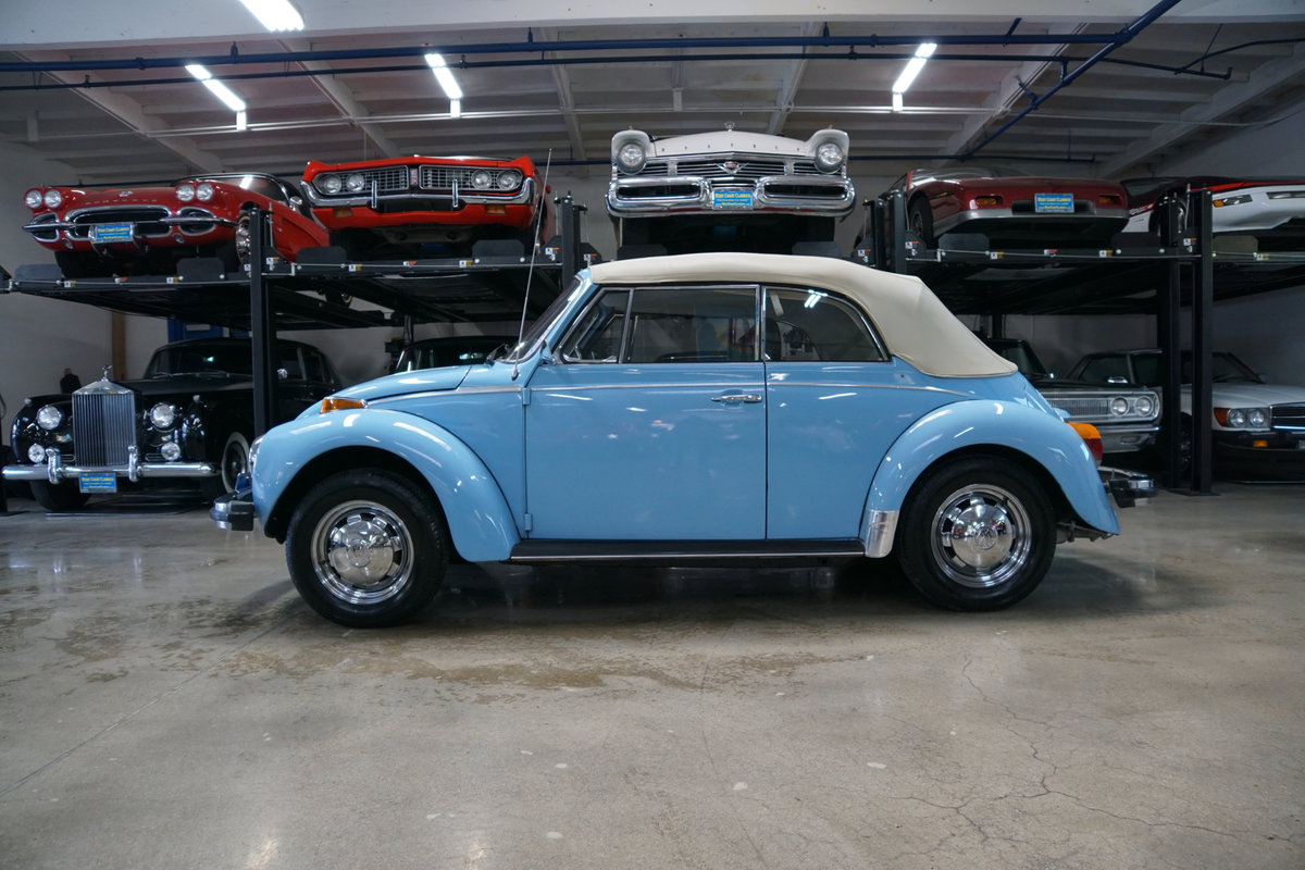 Orig CA owner 1979 Volkswagen Beetle Conv with 23K orig mile For Sale (picture 2 of 6)