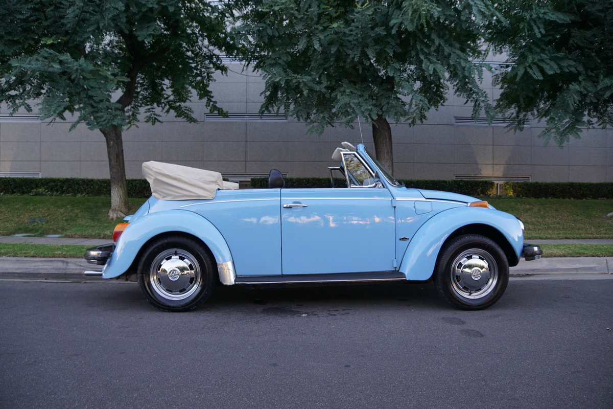 Orig CA owner 1979 Volkswagen Beetle Conv with 23K orig mile For Sale (picture 3 of 6)