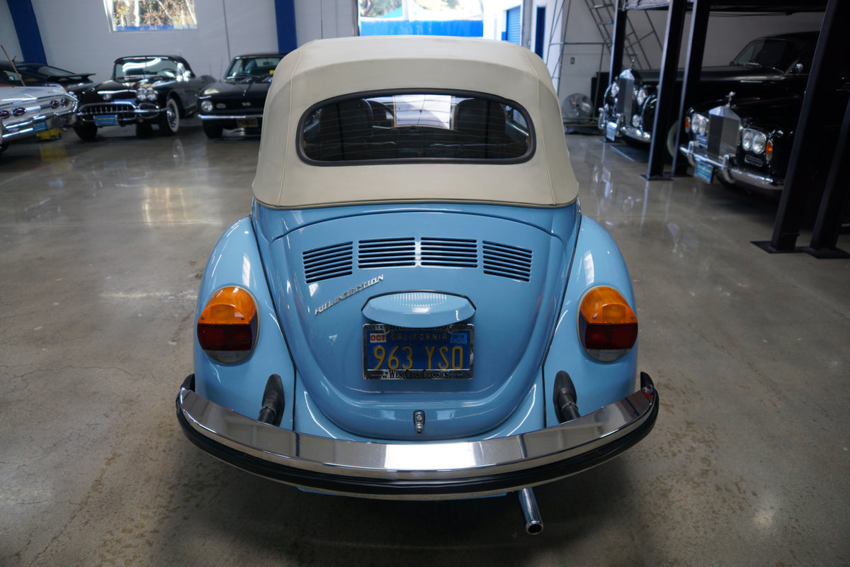 Orig CA owner 1979 Volkswagen Beetle Conv with 23K orig mile For Sale (picture 4 of 6)