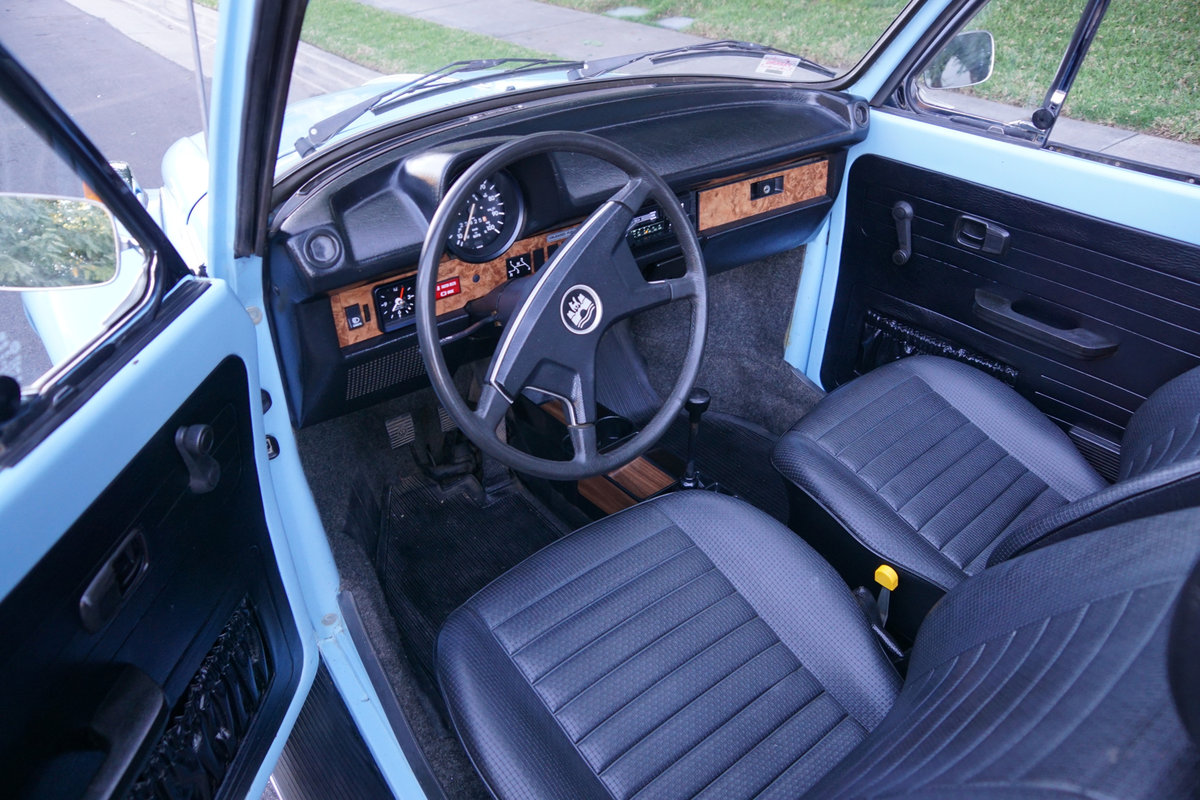 Orig CA owner 1979 Volkswagen Beetle Conv with 23K orig mile For Sale (picture 6 of 6)