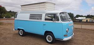 1972 VW Kombi Camper Lowlight Toppop Roof For Sale