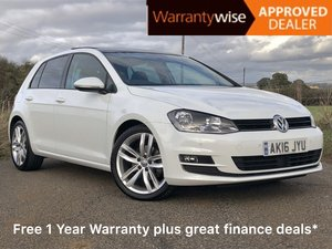 2016 Golf GT Edition 1.4T Petrol DSG with Panoramic Roof For Sale