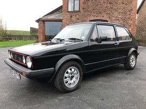 1983 Volkswagen Golf Gti MK I For Sale by Auction
