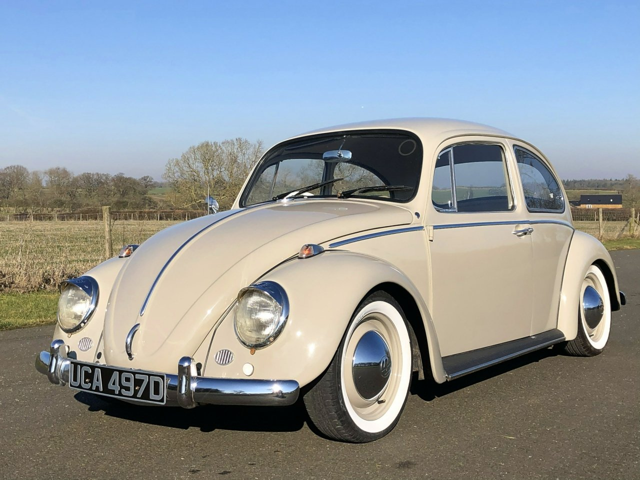 1966 Volkswagen Beetle 1600cc SOLD (picture 1 of 6)