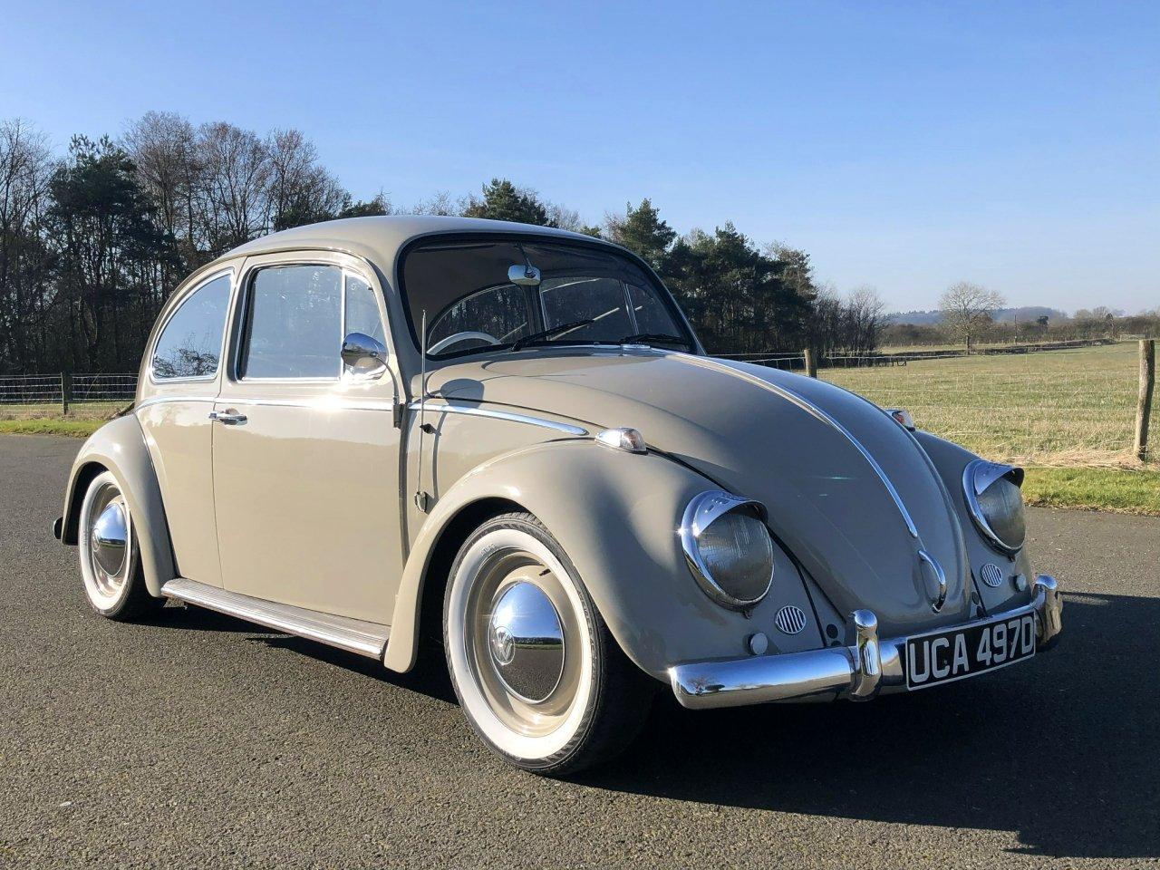 1966 Volkswagen Beetle 1600cc SOLD (picture 3 of 6)