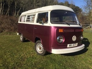 1973 vw type 2 bay window genuine  westfalia pop For Sale