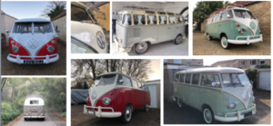 1968 VW Splitscreen Kombi's 1960-1975 Type 2 T1 For Sale