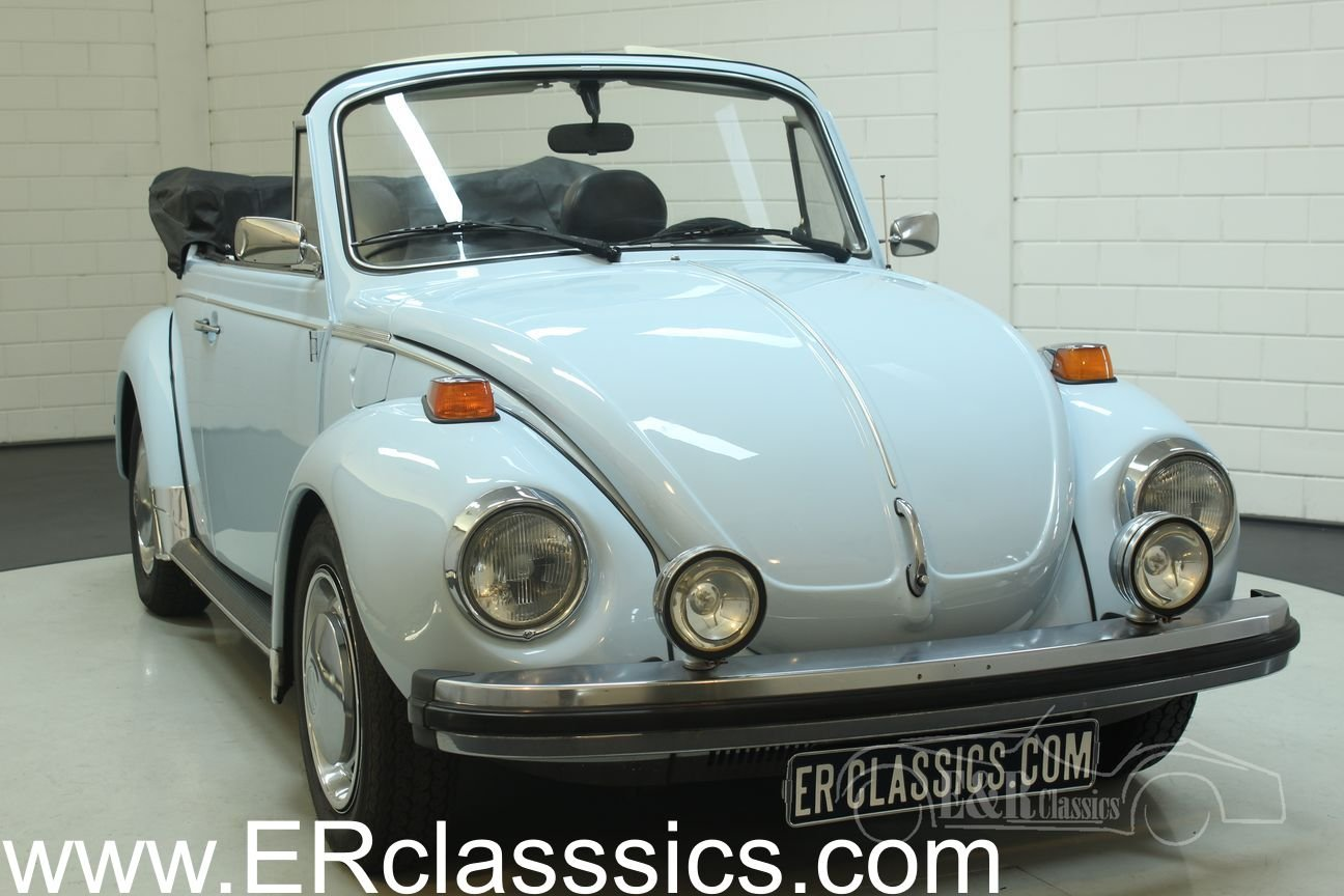 Volkswagen Beetle 1303 Cabriolet 1975 in very good condition For Sale (picture 1 of 6)