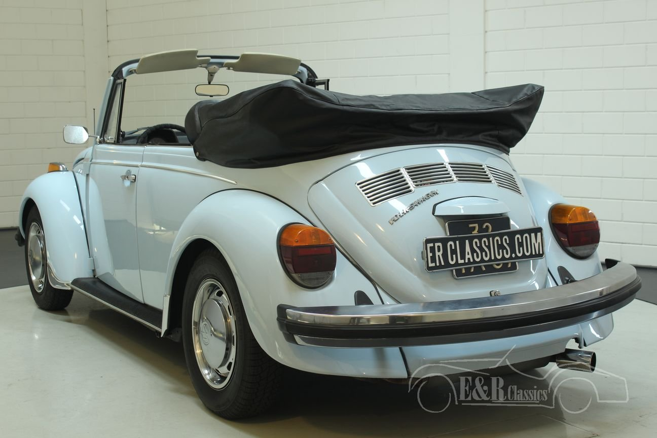 Volkswagen Beetle 1303 Cabriolet 1975 in very good condition For Sale (picture 6 of 6)