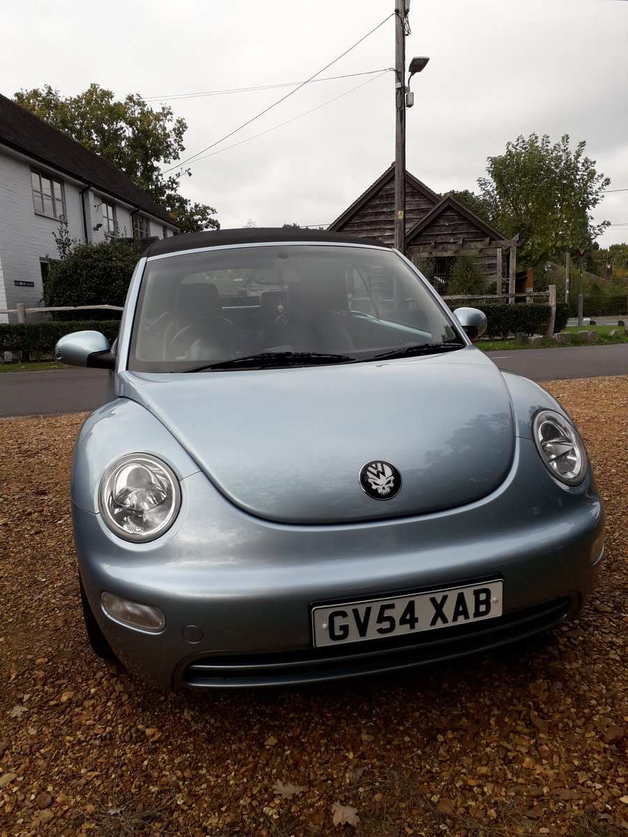 2004 Volkswagen Beetle 2.0 Cabriolet For Sale (picture 1 of 3)