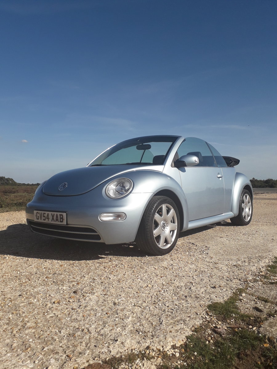 2004 Volkswagen Beetle 2.0 Cabriolet For Sale (picture 2 of 3)