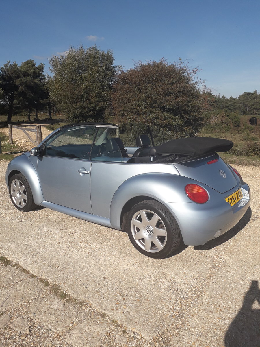 2004 Volkswagen Beetle 2.0 Cabriolet For Sale (picture 3 of 3)